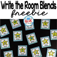 Write the Room Blends is the perfect literacy center that combine movement and learning, while having fun learning. This free printable is perfect for preschool, kindergarten, and first grade students.