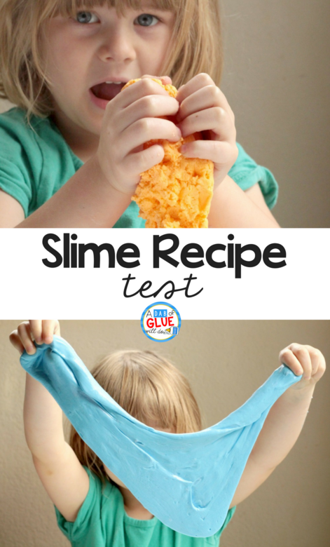 Slime Recipe Test: Simple Science For Kids