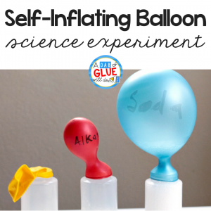 Self-Inflating Balloon Science Experiment
