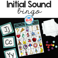 Initial Sounds Bingo Sheets