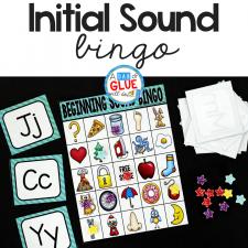 Initial Sounds Bingo Sheets