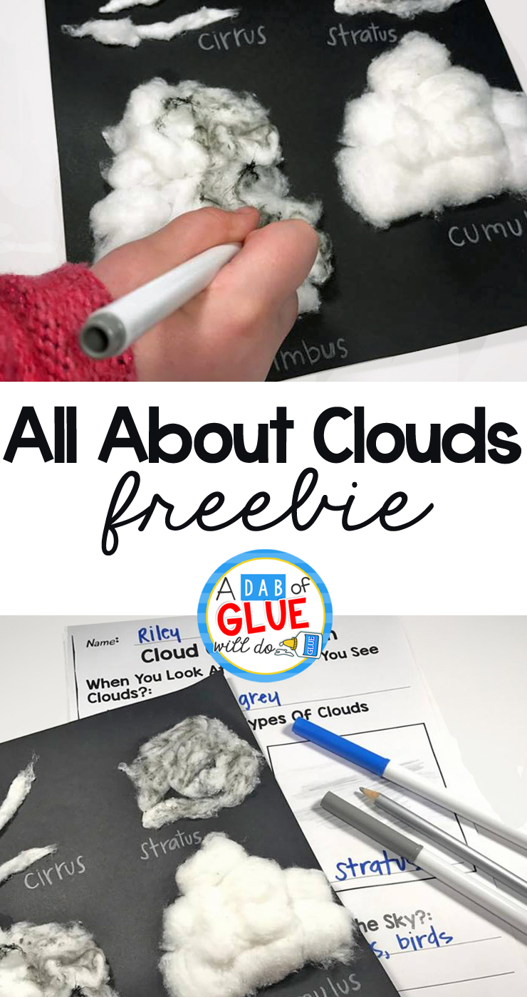 All About Clouds Activity & Freebie