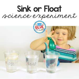 Sink or Float Science Experiment Using Balloons