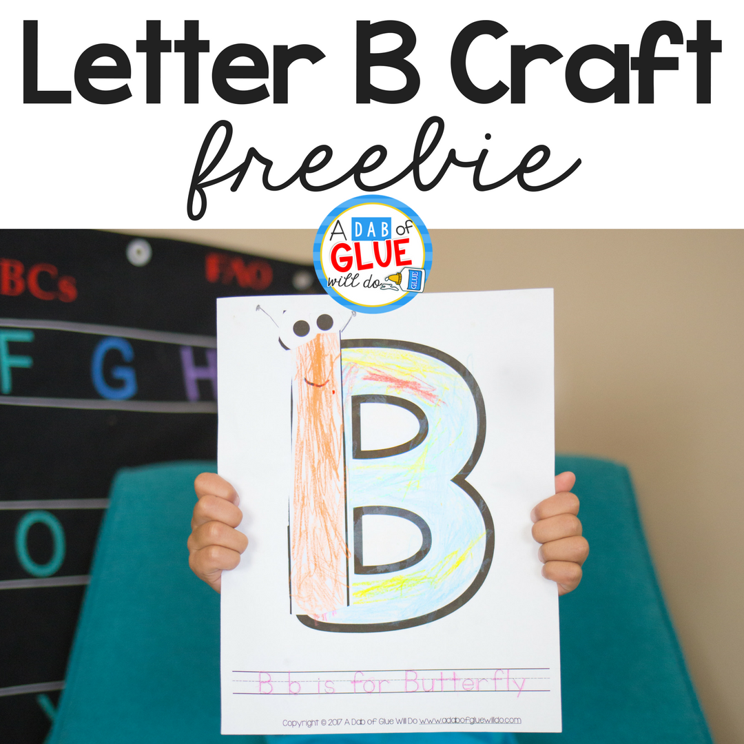 letter b crafts animal alphabet b is for butterfly craft 22769 | ADOGWD Featured Image 8