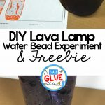 DIY Lava Lamp Water Bead Experiment + Free Printable