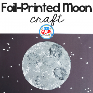 Foil-Printed Moon Craft