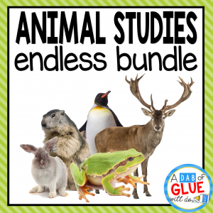 Add this animal studies endless bundle to your science center of your early learning classroom.