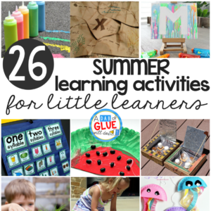 Summer Learning Activities for Little Learners