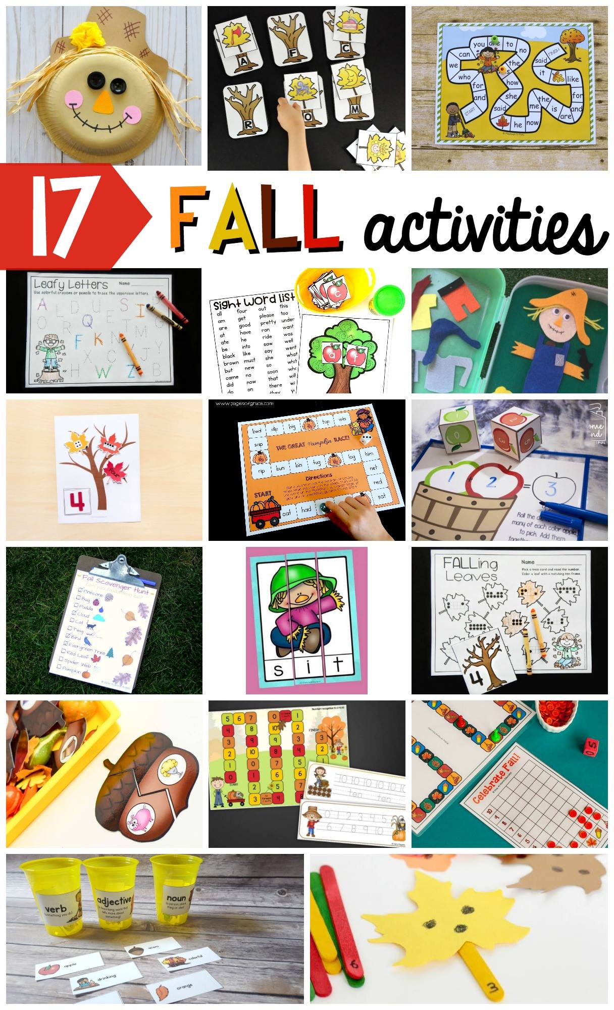 Fall Initial Sound Match-Up Free Printable is the perfect addition to your literacy centers this autumn. This hands-on activity is perfect for preschool, kindergarten, and first grade students.