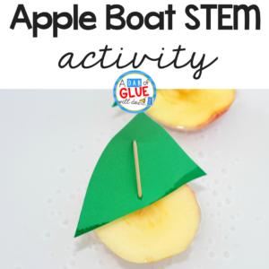 Apple Boats STEM Activity