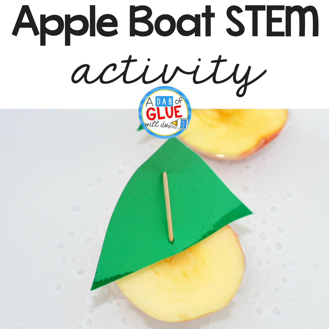 Apple Boats STEM Activity