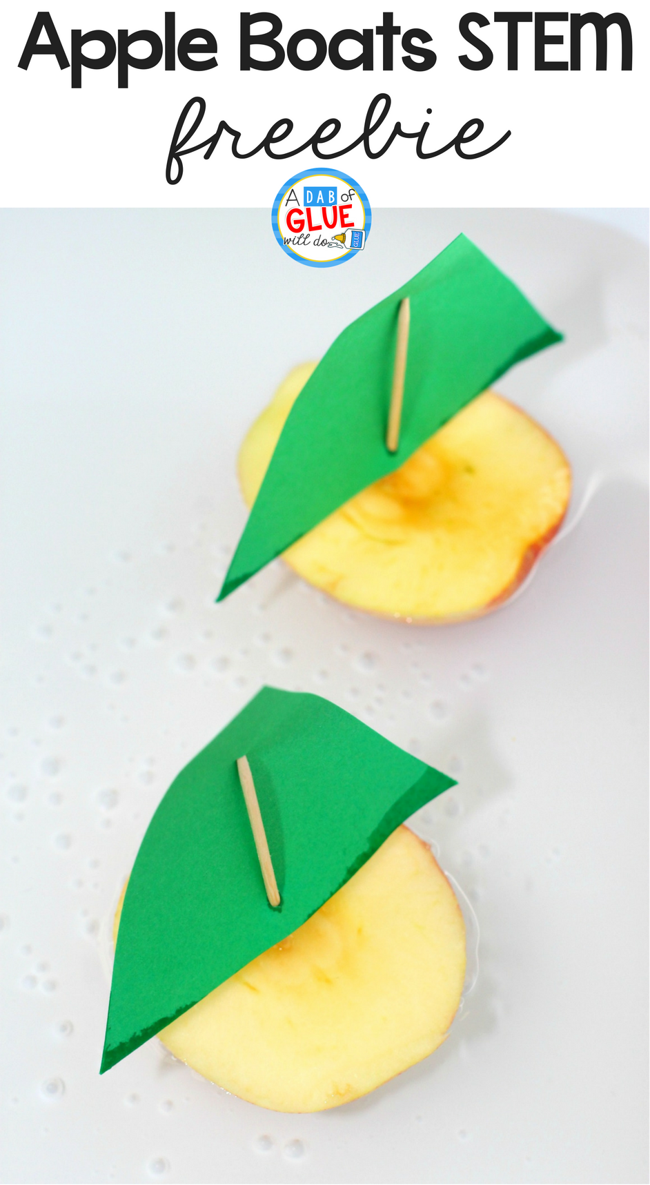 Apple Boats STEM Activity, STEM Activity, Apple STEM Activity, Fall STEM Activity