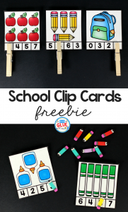 "<b><a href=""https://www.adabofgluewilldo.com/school-clip-cards-printable/"">School Clip Cards</a></b>"