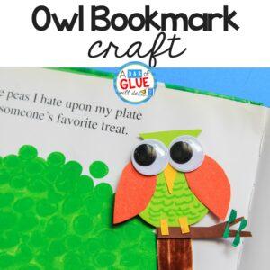 Owl Bookmark Craft