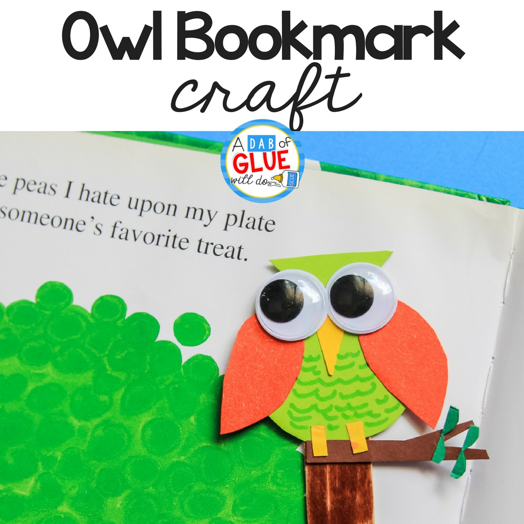 Owl Bookmark Craft