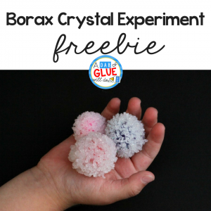 Crystal Balls Science Experiment for Kids