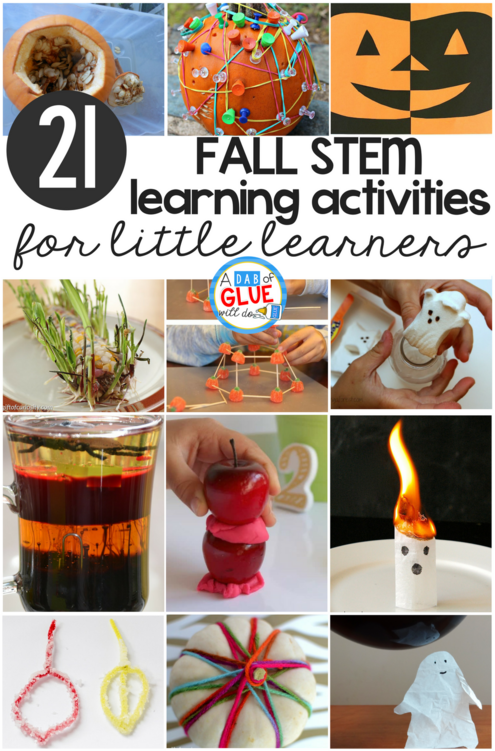 Fall Stem Learning Activities For Little Learners