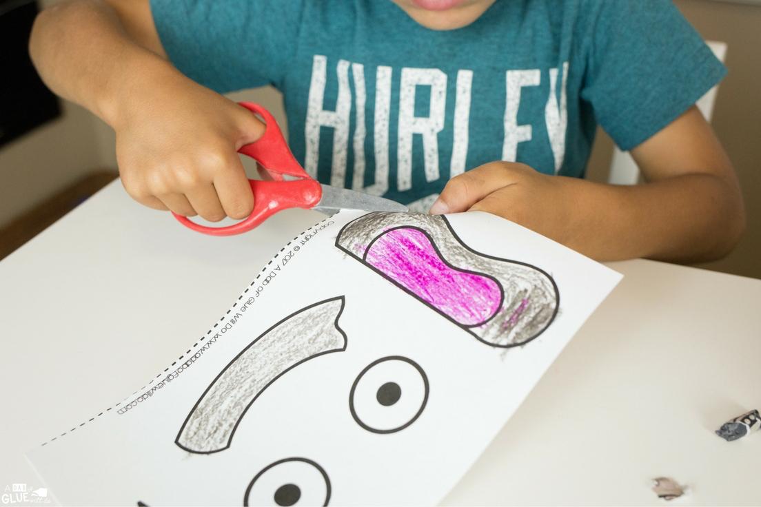 Animal Alphabet E Is For Elephant Craft