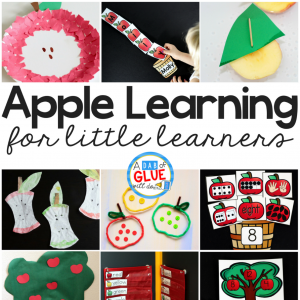 Apple Learning Activities for Little Learners