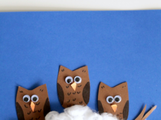 This simple owl babies craft is adorable and super simple which makes it perfect for preschool or kindergarten classrooms.