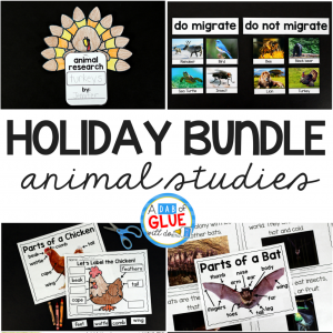 Animal Studies Holiday Bundle