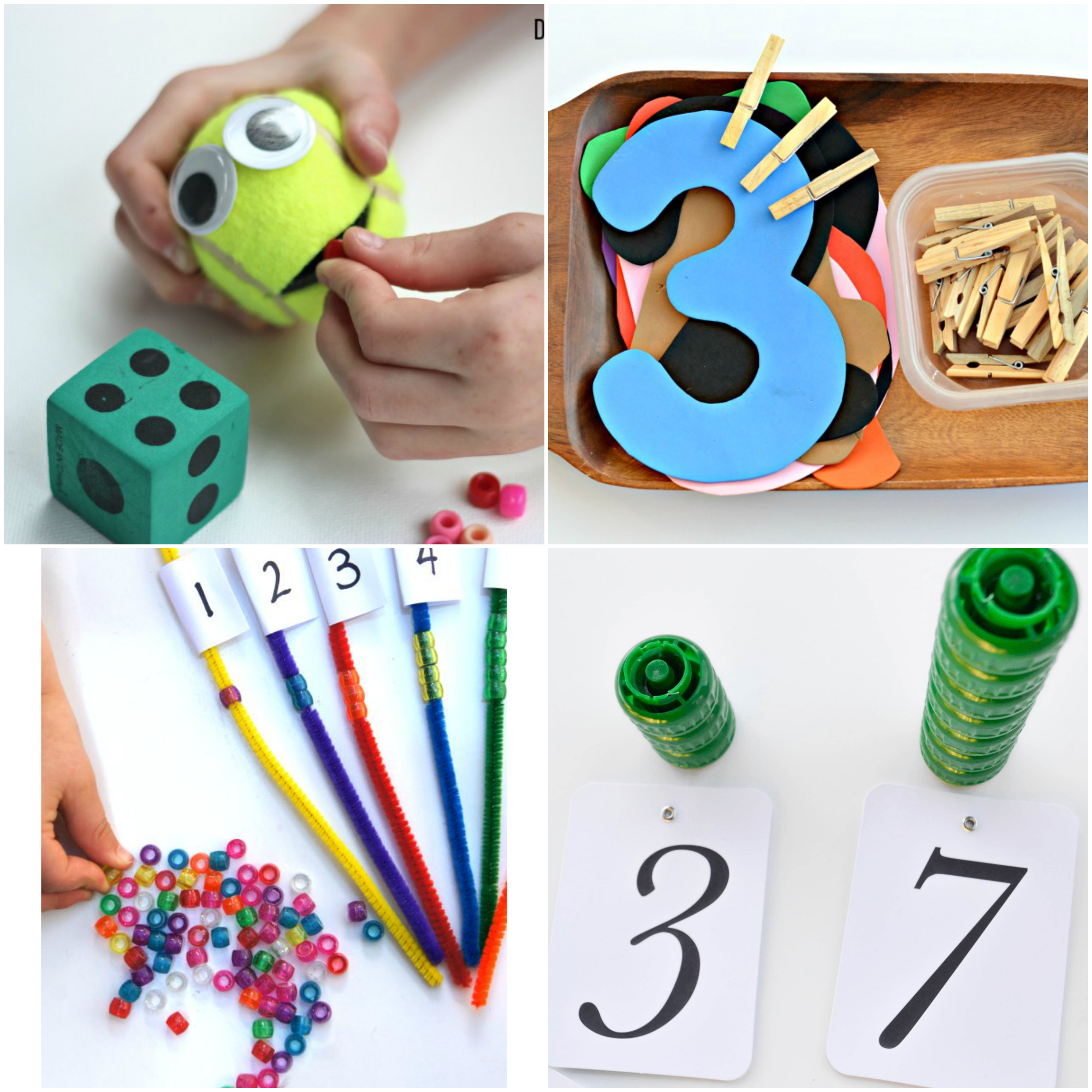 Numbers and counting is such a fun topic to teach! There are tons of great manipulatives to use and it's a great way to give good base knowledge to kids that will use it all their lives. Here are some of the best number sense activities for little learners! I hope you enjoy!