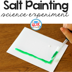 Salt Painting Science Experiment