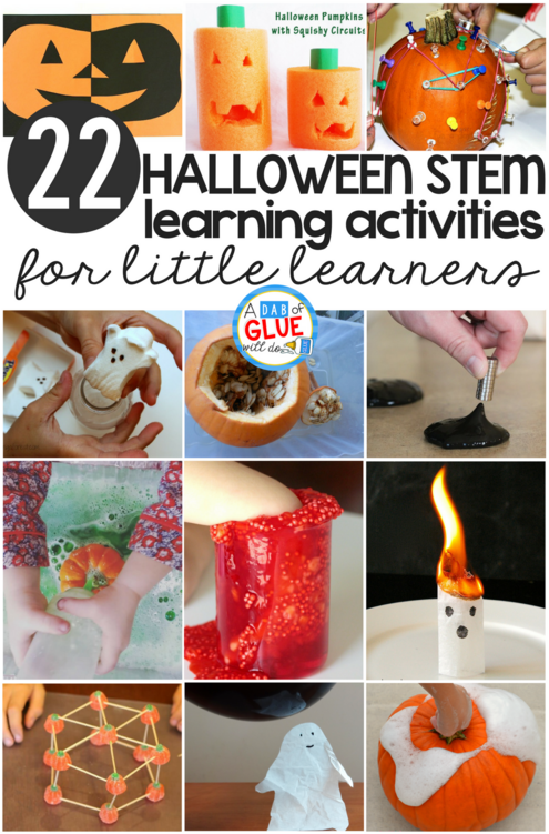 Halloween STEM for Little Learners