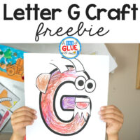 We are back with our Animal Alphabet Letter of the Week Series! This special series is dedicated to helping you teach your students and children the letters of the alphabet in a fun, hands-on way. Each week we share alphabet crafts that your child can color, cut, trace, and glue to make a fun animal that begins with the featured letter! Let's get back to it with this G is for Goat craft!