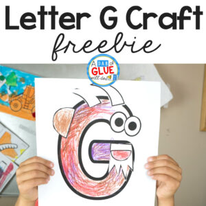 Animal Alphabet G is for Goat Craft