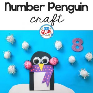 Penguin Number Counting Craft and Activity
