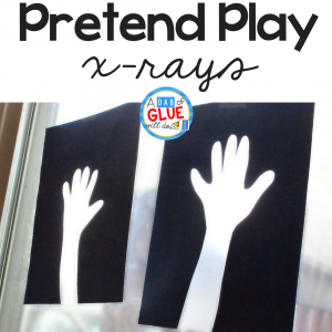DIY Pretend Play X-Rays