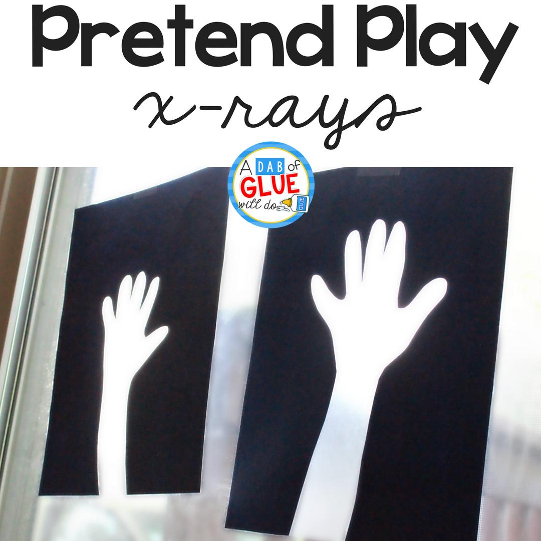 DIY Pretend Play X-Rays