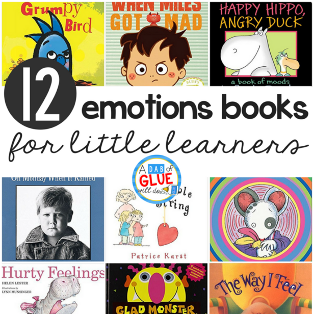 12 Emotions Books for Little Learners