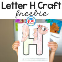 Animal Alphabet Letter of the Week Activity! Last week we completed G is for Goat and we are moving on this week to another farm animal- H is for horse!