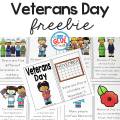 This Veterans Day Emergent Reader will be the perfect addition to your lesson plans. This is perfect for pre-k, kindergarten, and first grade students.