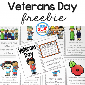 Veterans Day Emergent Reader