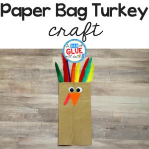 Paper Bag Turkey Puppet Craft