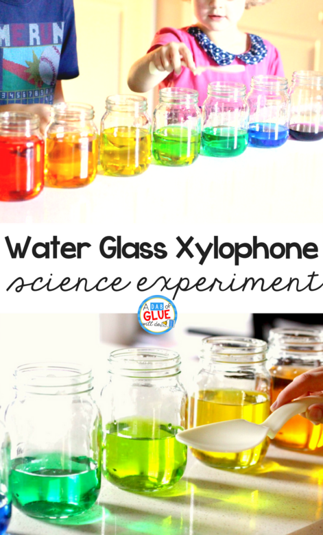 Learn about how sound waves travel, how different pitches are produced, and have fun playing on your own homemade water glass xylophone musical instrument!