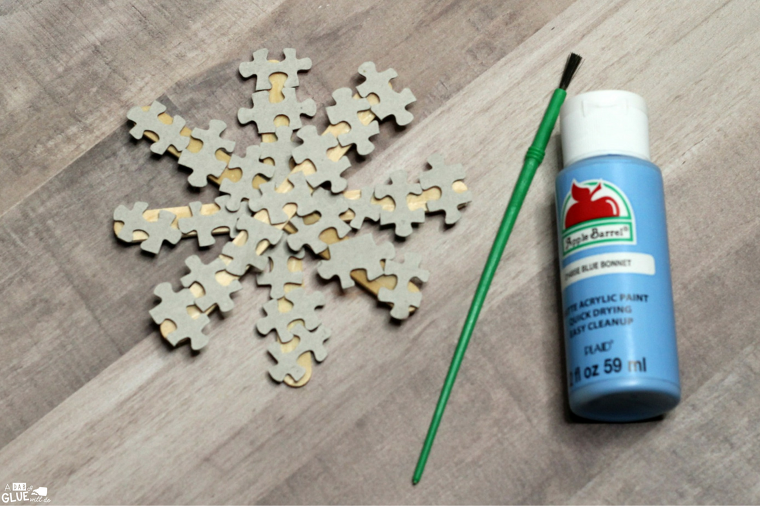 Are you looking for a creative ornament for your students to make for their families this year? This Puzzle Piece Snowflake Ornament Craft is always a fun and cute winter project for the kids to make