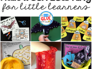 It's the time of year where students are OVERJOYED at all the candy and festivities that surround Halloween. While they are excited, slip in somehalloween learning activities for little learners!