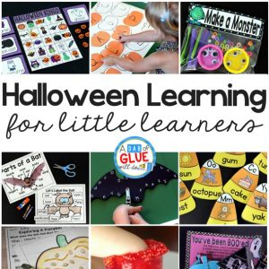 Halloween Learning Activities for Little Learners