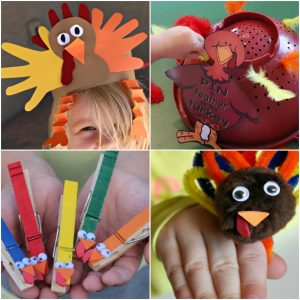 Thanksgiving Crafts for Little Learners