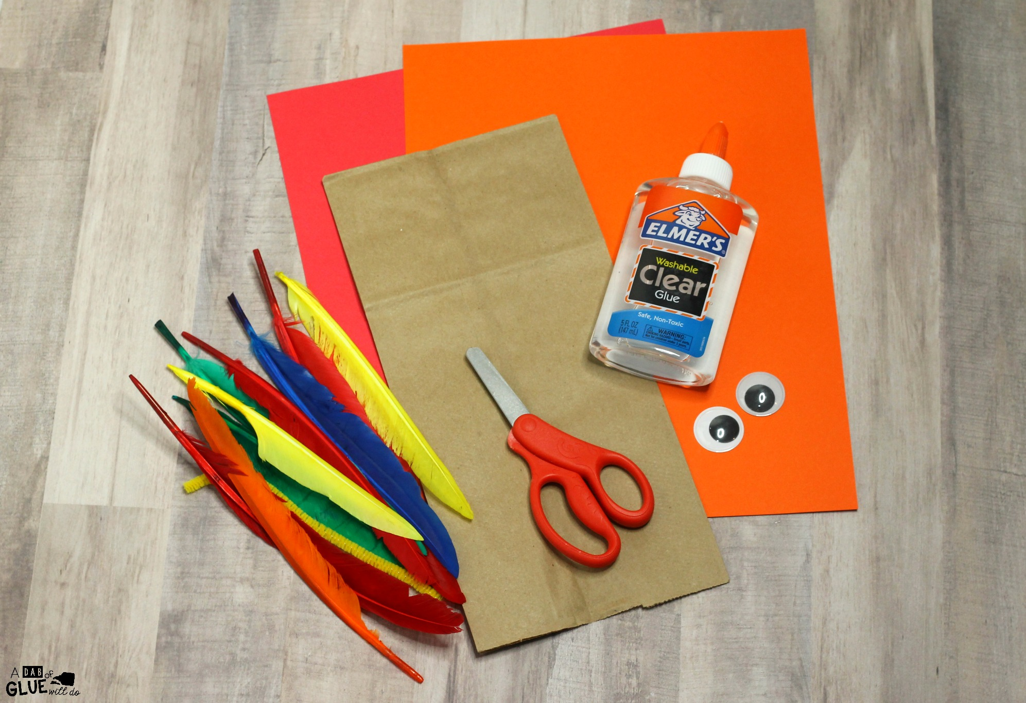 Whether you are looking for something for your students to do during your Thanksgiving party or learning about the feathered birds, this Paper Bag Turkey Puppet Craft is the perfect craft to make.