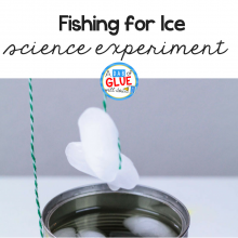 Ice Fishing Science Experiment for Kids