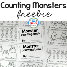Monster Counting Emergent Reader