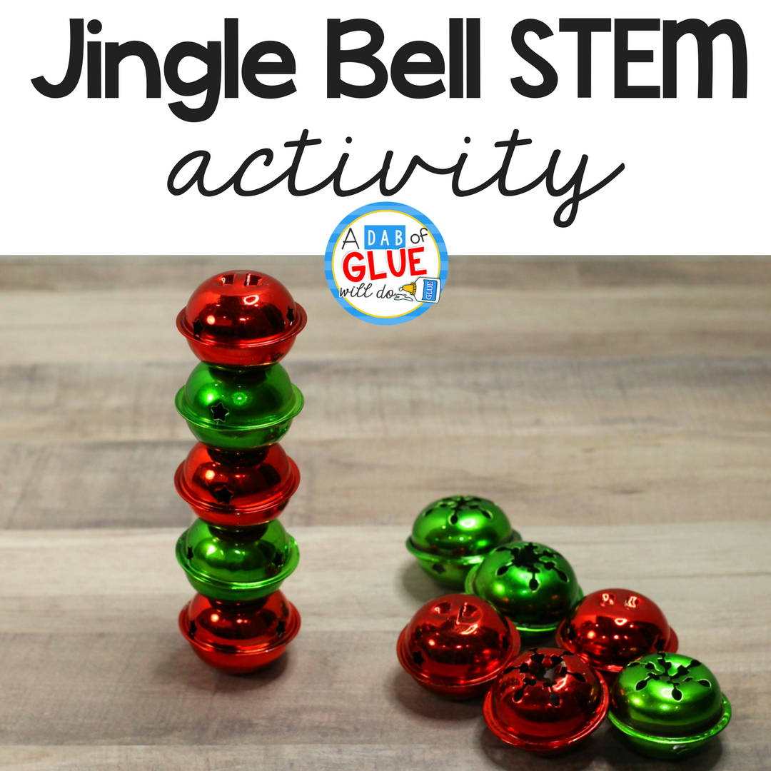Jingle Bell Stacking STEM Activity
