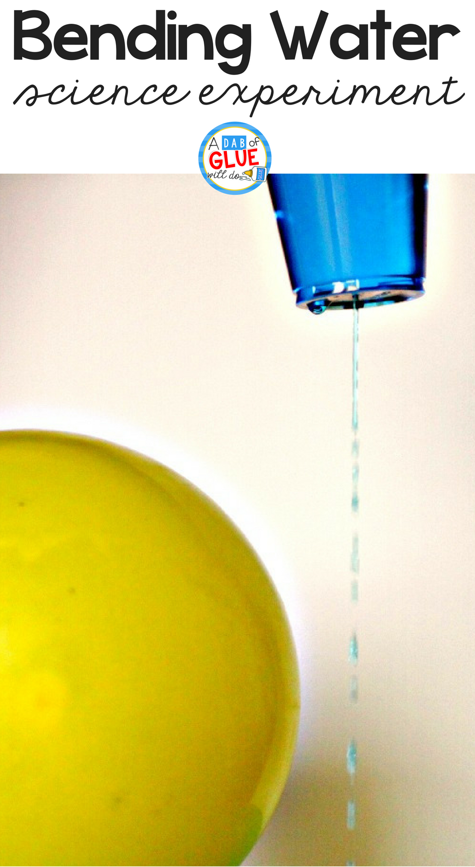 Need a simple science idea? Static Electricity Experiment for Kids is perfect for your STEM lesson in elementary classroom. Kids love easy science!