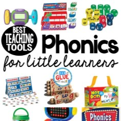 Teaching phonics is one of the greatest gifts you can give your students! This is my list of the best phonics teaching tools for littler learners that some of the very best teachers have used in the past. These materials last year after year too!