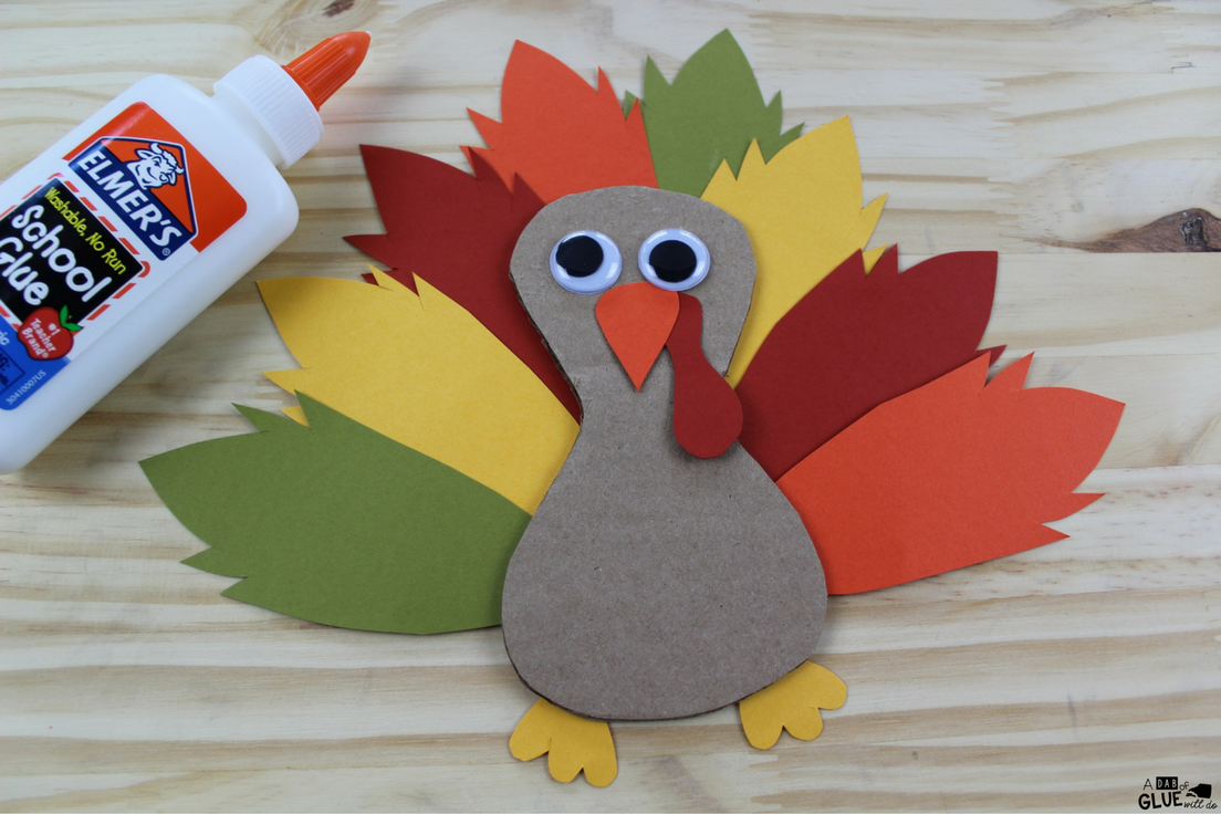 Thanksgiving is the perfect time of year to teach children the virtue of gratitude. This adorable cardboard thankful turkey craft is simple enough for preschool and kindergarten students to complete with a bit of help or for older children to do on their own.